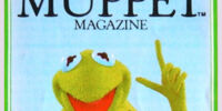 Muppet Magazine stickers