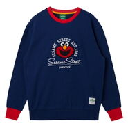 Pancoat crewneck elmo head