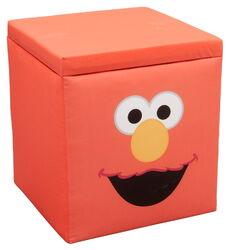 Delta children's products 2011 elmo ottoman storage
