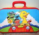 Sesame Street suitcases