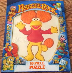 Red fraggle puzzle 1