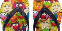 Muppet flip-flops (Havaianas)