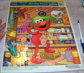 Elmo plays pretend 1994