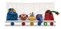 GoogleDoodle-JimHenson's75th-(2011-09-24)-RedMonsterEating