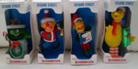 Sesame Street Christmas ornaments (Alderbrook)