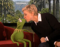 Kissing Muppets