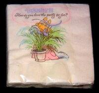 Hallmark 1981 piggy party supplies 3b