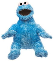 Sesame place plush cookie 8-5