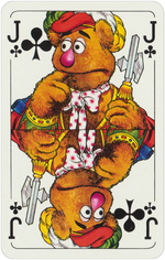 1978 playing cards Jack Clubs