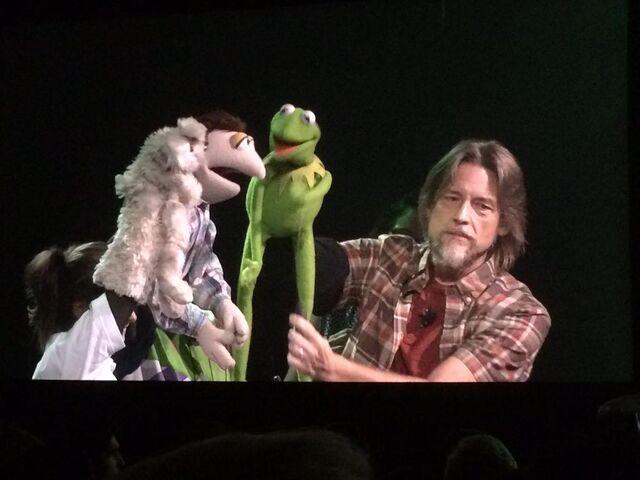 File:D23 puppeteer demo bunny Steve.jpg