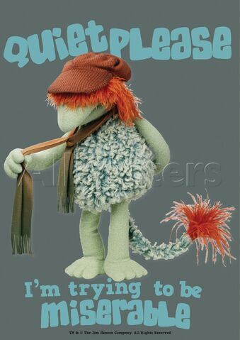 File:Poster Fraggle Rock-Quiet Please.jpg