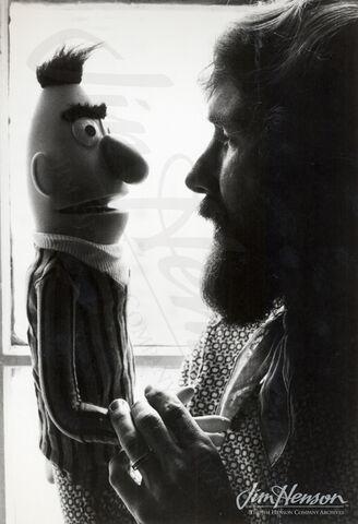 File:JimHensonBertHandPuppet1971.jpg