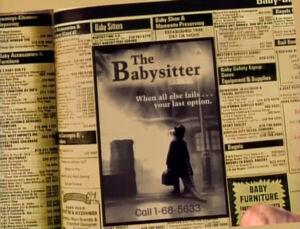 Babysitter exorcist poster