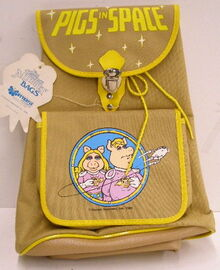 Butterfly originals pigs in space backpack 1980 a