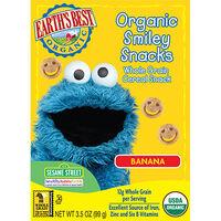 Organic Banana Smiley Snacks