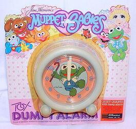 Tox brampton 1986 muppet babies dumpy alarm clock 1