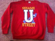 Sesame street general store sesame u sweat shirt