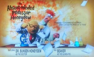 MV3D poster The Absent-Minded Professor