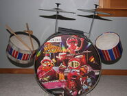 Muppet sound drum kit 1