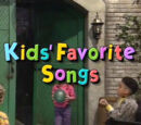 Kids' Favorite Songs (video)