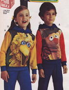 Jc penney 1976 catalog screenprinted shirts big bird ernie