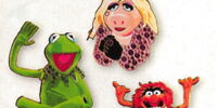 Muppet pavé pins
