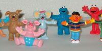 Sesamstraat PVC figures (Albert Heijn)