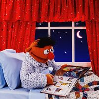 Ernie reading