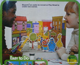 Friends 1977 color-your-own play stage craft set 2
