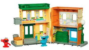 Sesame street playset hasbro 2b