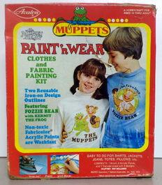 Avalon 1978 muppet show paint n wear kit 1