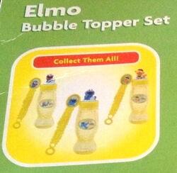 Funrise 2008 elmo bubble topper set 3