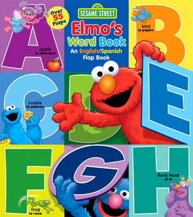 Elmo's word book spanish
