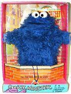 Topper sesame 1971 cookie monster box