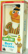 Knickerbocker 1976 rag dolls ernie bert plush 2