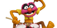 Muppet resin figures