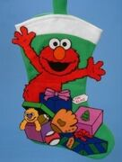 Kurt Adler felt stocking elmo