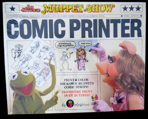 Colorforms 1981 muppets comic printer 1