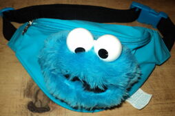 Roma kids 1995 cookie monster fanny pack