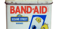 Sesame Street Band-Aid