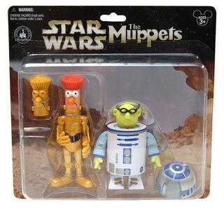 Star Wars 2011 Muppet package