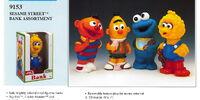 Sesame Street piggy banks (Illco)