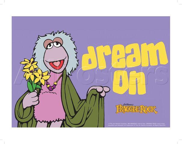 File:Poster Fraggle Rock-Dream On.jpg