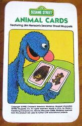 1982 animal cards