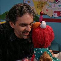 Kiss Andrea Bocelli Elmo