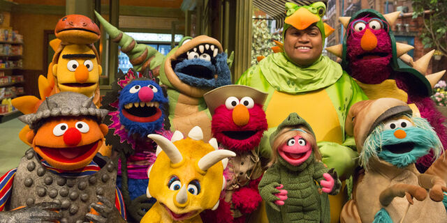 File:SesameStreet-Season46-Dinosaurs-(RichardTermine).jpg