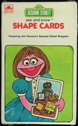 1981 shape cards