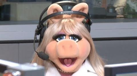 "Miss Piggy & Jason Segel on ""On Air with Ryan Seacrest"""