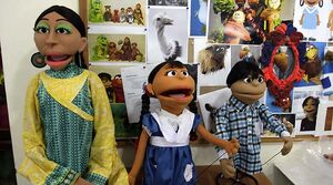 PakistanSesameStreet main cast prelaunch
