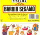 Barrio Sésamo 3D Stickers